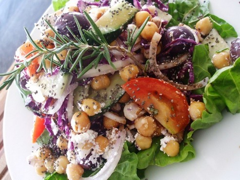 chia-salad