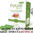 Đường cỏ ngọt Stevia Hộp Pyure – All Natural 80xgói 1Gr