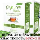 Bộ 2 hộp Đường cỏ ngọt Stevia Pyure – All Natural mỗi hộp 80xgói 1Gr